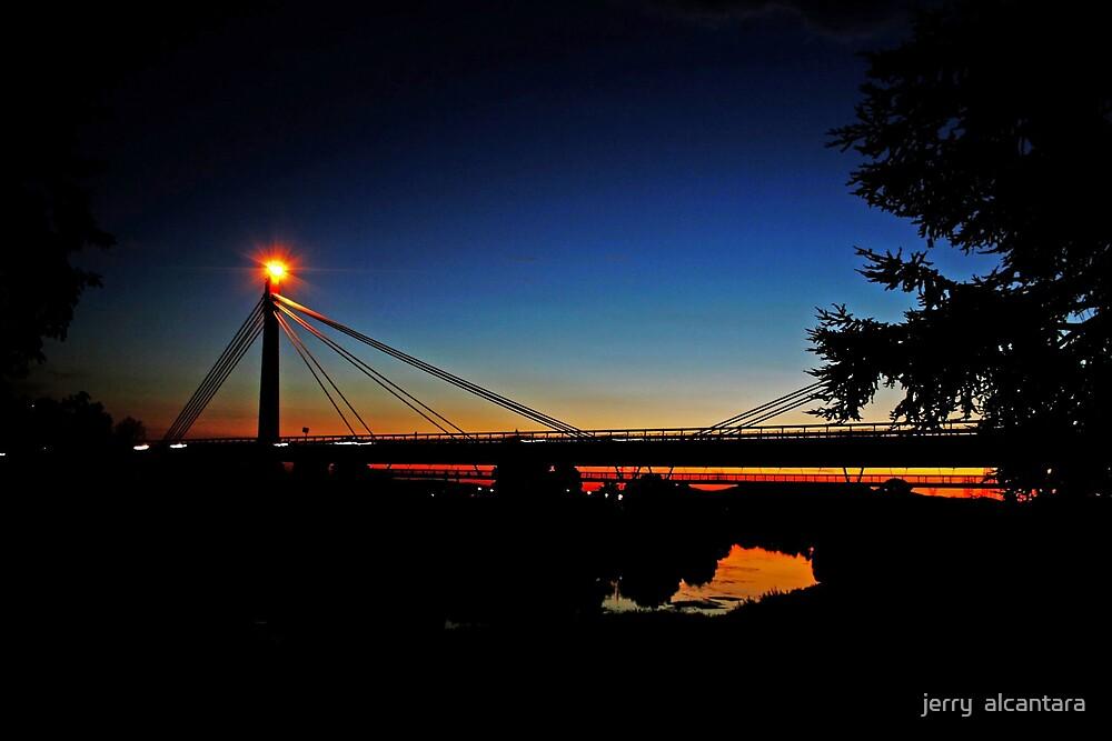 Night Bridge by jerry  alcantara
