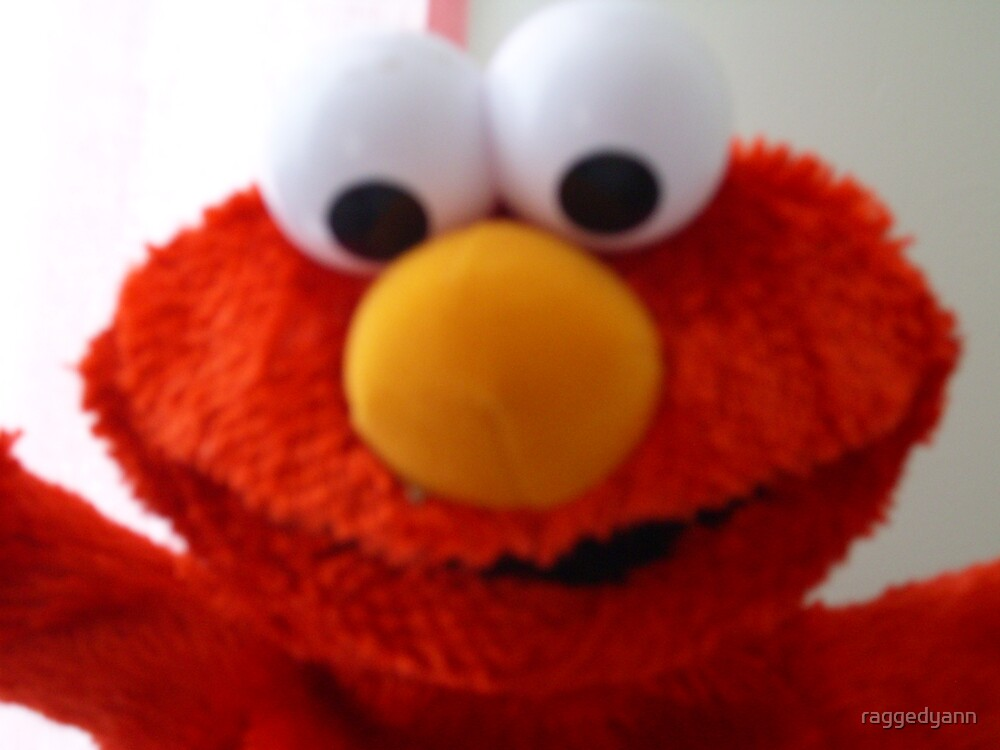 Hello Elmo by raggedyann