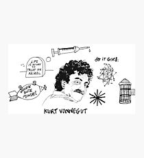 Ode to Vonnegut Photographic Print