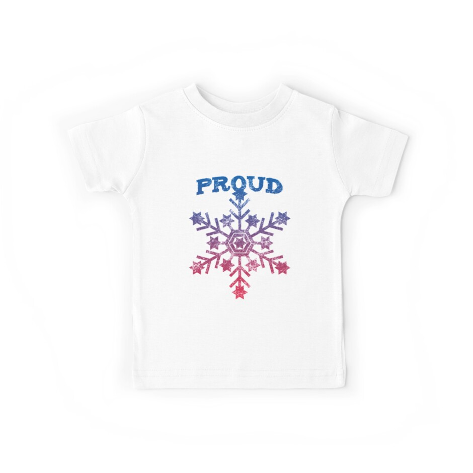 Proud To Be A Liberal Snowflake Kids Tees By Dfunky Redbubble