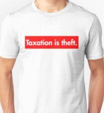 Taxation is theft Supreme Bogo Unisex T-Shirt