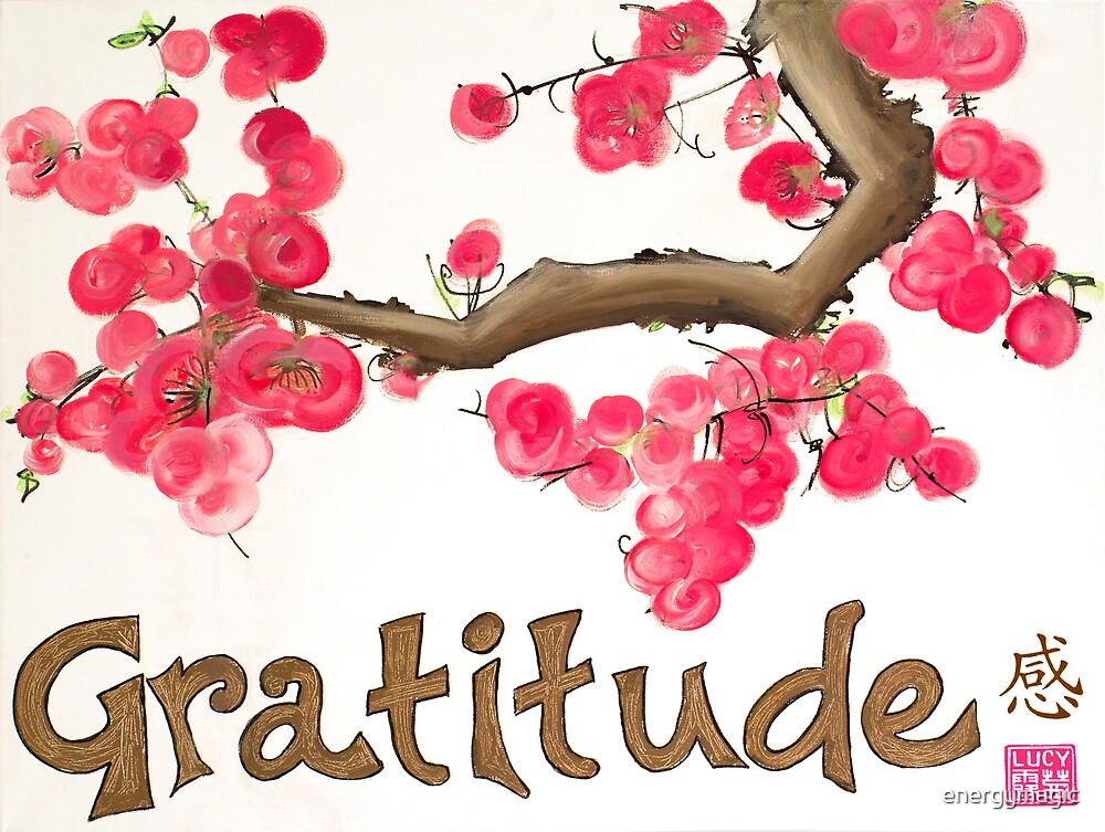 Gratitude Blossom by energymagic