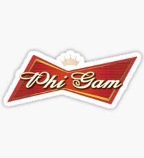 Fiji Budweiser Sticker