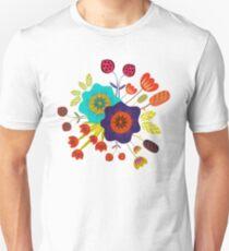 Magischer Nacht Garten Unisex T-Shirt