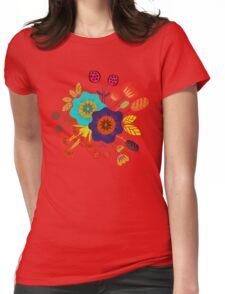 Magischer Nacht Garten Womens Fitted T-Shirt