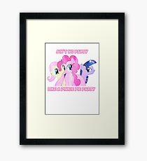 Pinkie Pie's Party Framed Print