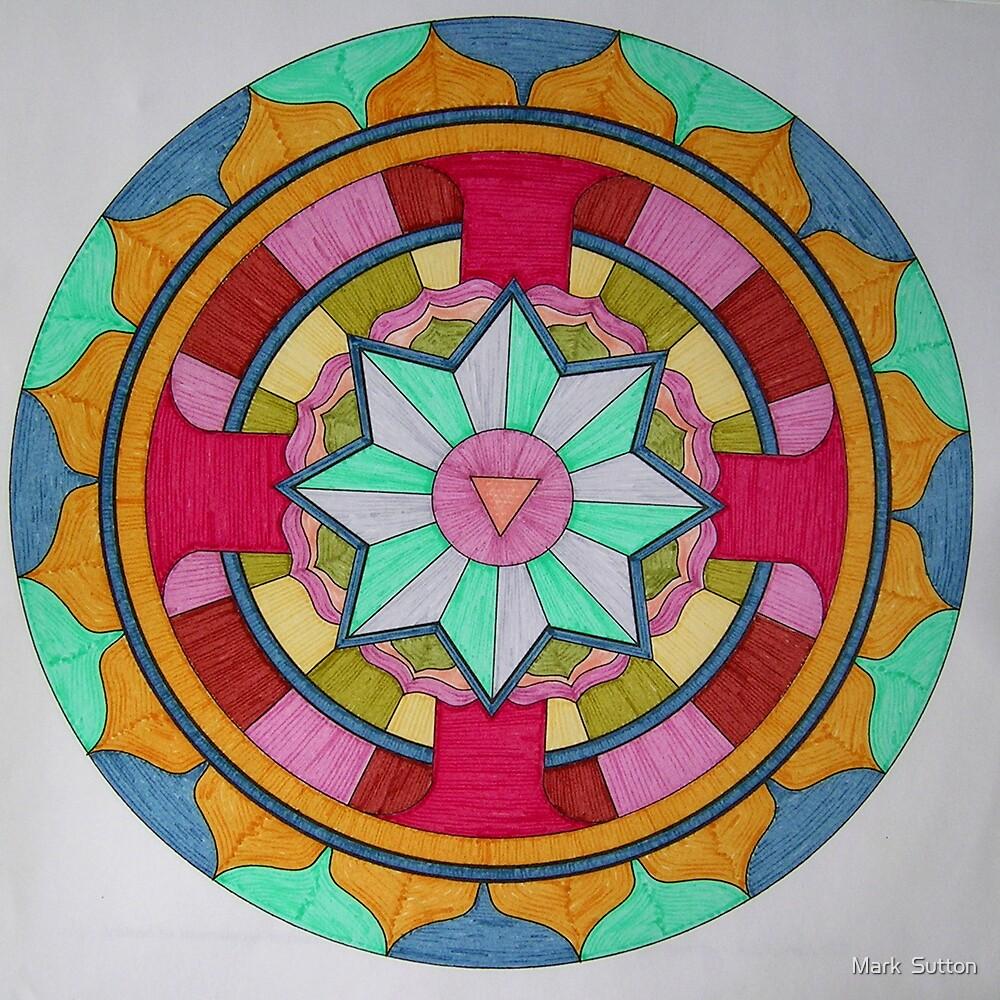 Mandala 1 by Mark  Sutton