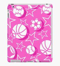 Team sports pink iPad Case/Skin