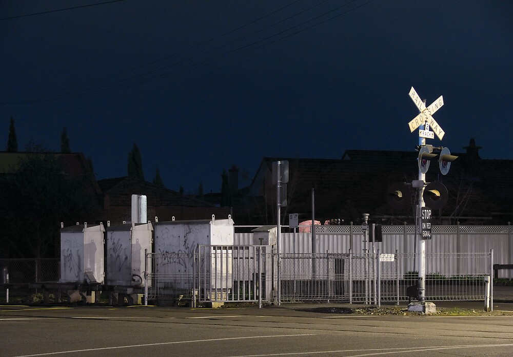 Rail Crossing Moonee Ponds by eclectic1