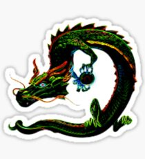 Mystical Dragon Sticker
