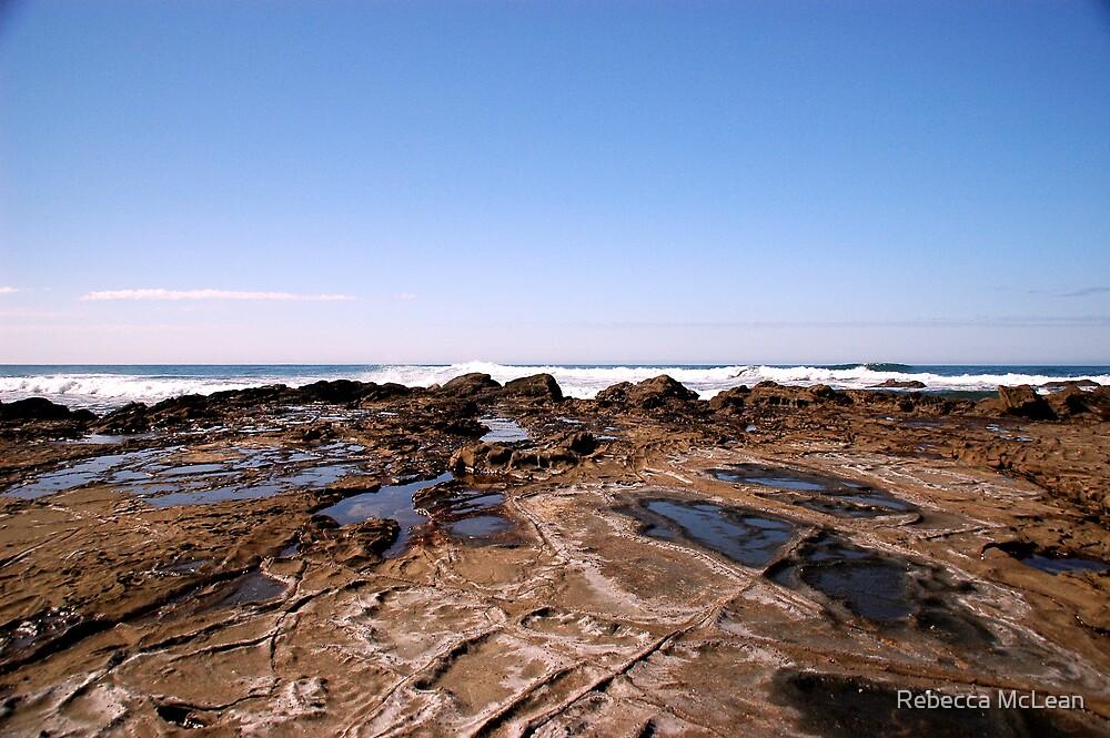 Shelly Beach Lorne by Rebecca McLean