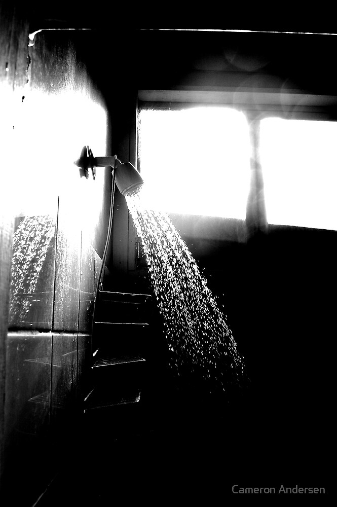 Early Morning Shower. by Cameron Andersen