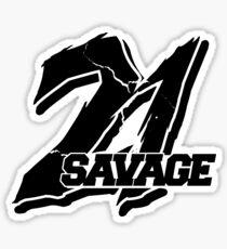 21 SAVAGE Sticker