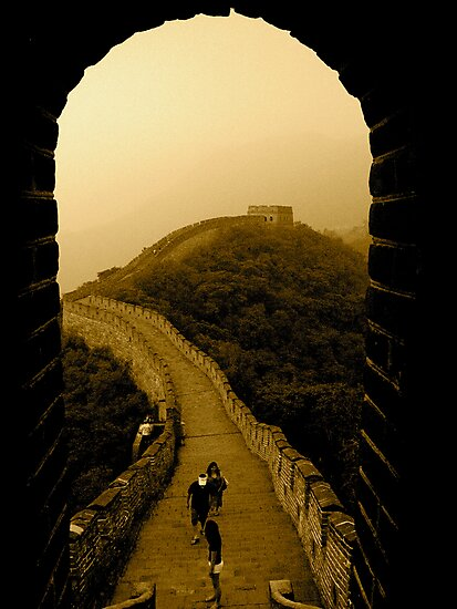 The Great Wall of Sheer Determination Gets You Anything! by sid8chris