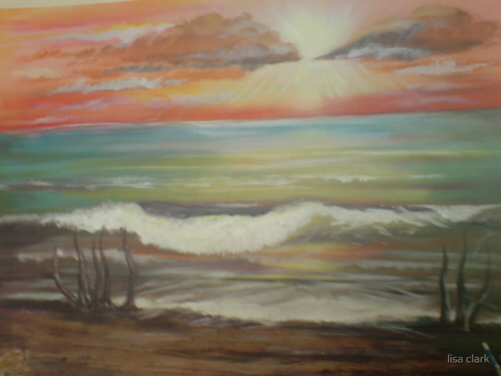 Sea scape.. by lisa clark