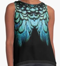 feathery necklace Contrast Tank