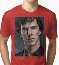 Are You Trying to Seduce Me Mr. Holmes Tri-blend T-Shirt