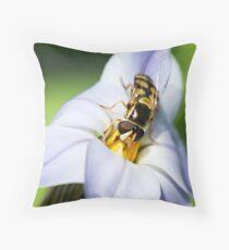 Nature's gardener Throw Pillow
