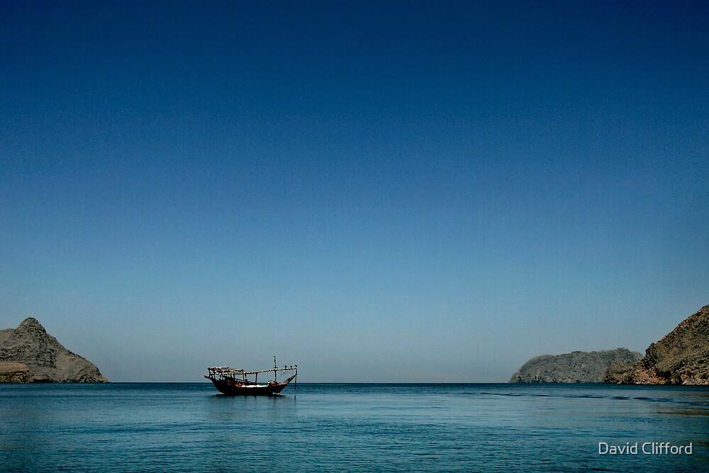 kumzar bay by David Clifford