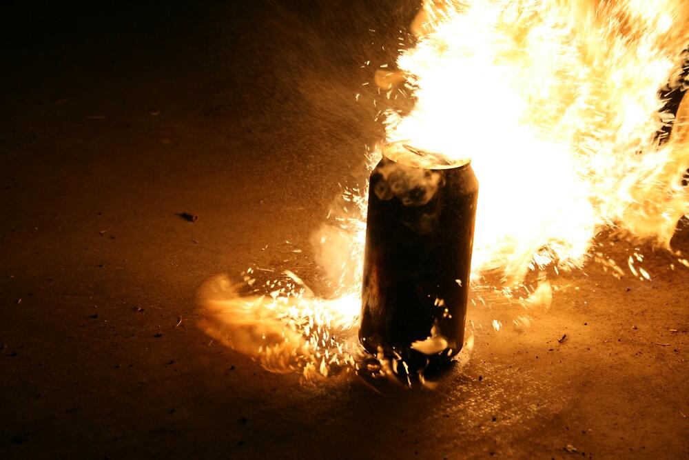 Burning can  by MeganJayne