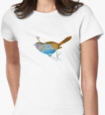 Chickadee Womens Fitted T-Shirt