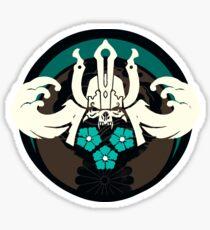 Samurai Emblem Sticker