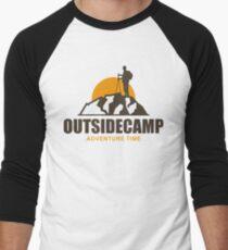 Camping Camp Outdoor Nature Mountain Green Adventure T-Shirt