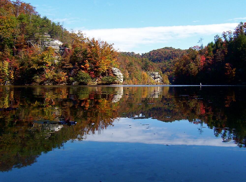 Fall Lake by Jason Helton