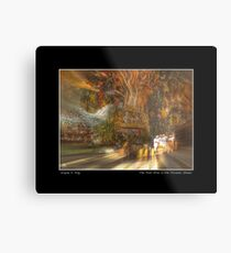 The Past Alive in the Present in Ghana Fine Art Poster Metal Print