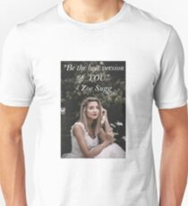 Zoe Sugg - Be The Best YOU  Unisex T-Shirt