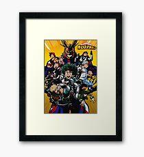 Boku no Hero Academia Poster 1 Framed Print