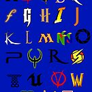 The alphabet of geekdom by Nana Leonti