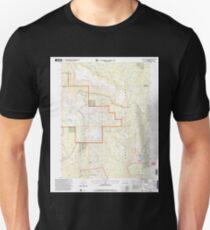 USGS TOPO Map Colorado CO Dunckley Pass 232865 2000 24000 T-Shirt