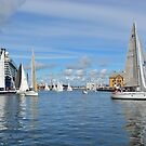 Harbour of Stavanger - Norway by Arie Koene