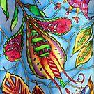 Fantasy flower garden by Lynn Excell