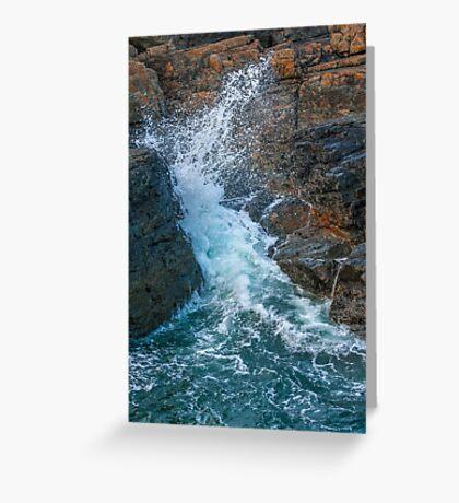 Sea Splash Greeting Card
