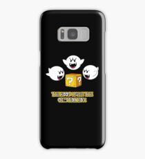 The Boos have the question box Samsung Galaxy Case/Skin