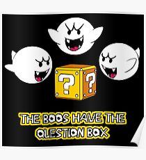 The Boos have the question box Poster