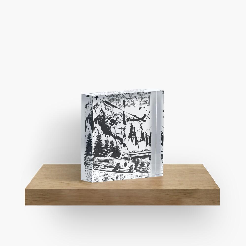 Skyline GT-R Hakosuka Outlaw Acrylic Block