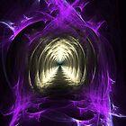 Majestic entrance to eternity by Kazytc