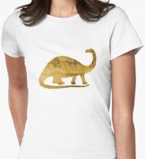 Brontosaurus / Dinosaur Womens Fitted T-Shirt