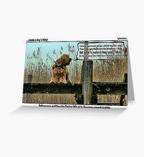 Dorothy Parker Dog Greeting Card