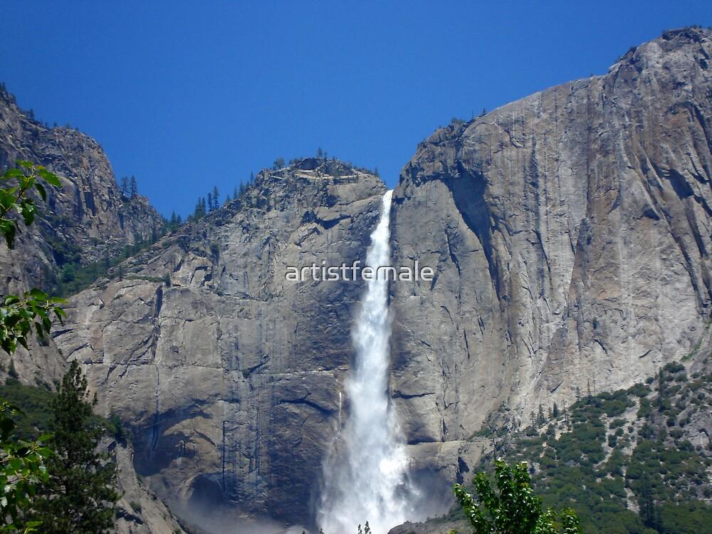 Yosemite Falls by artistfemale