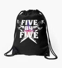Five by Five Drawstring Bag