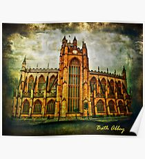 Bath Abbey Poster