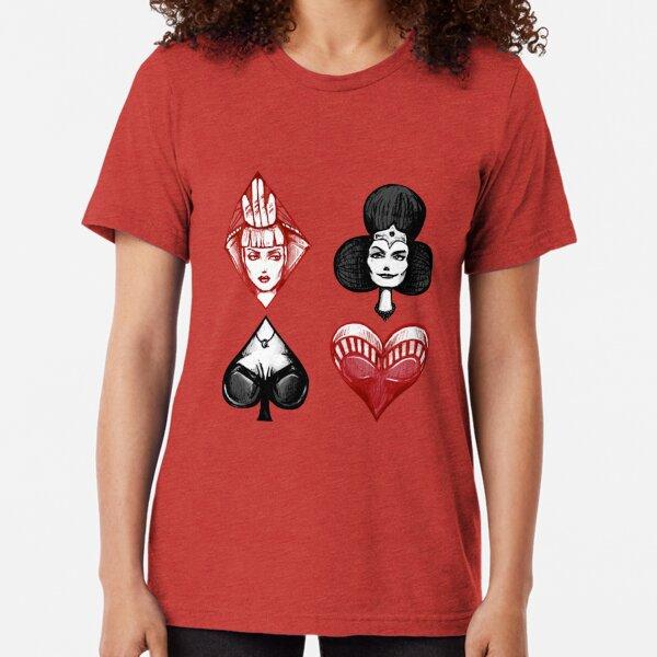 Queens of the Deck Tri-blend T-Shirt