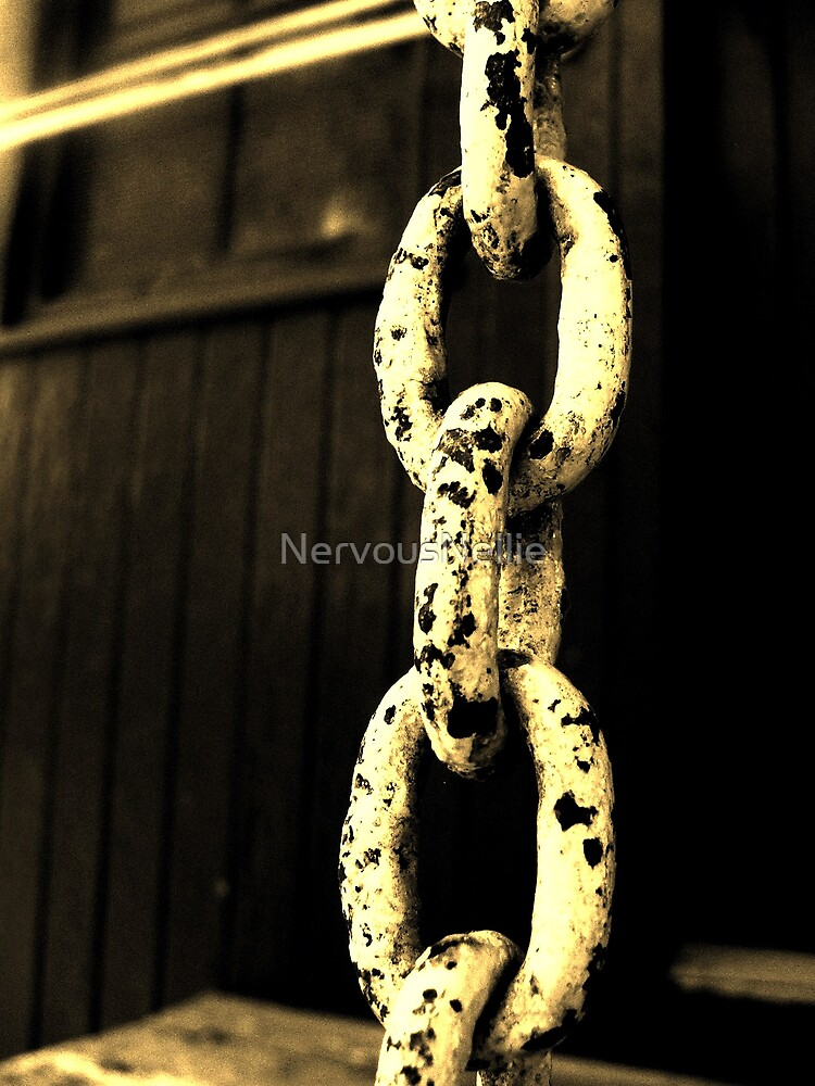 Rusty Chain by NervousNellie