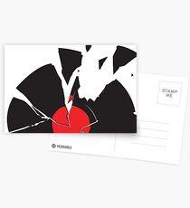 Broken Record Postcards