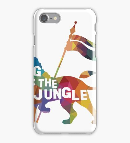 King Of The Jungle - Lion iPhone Case/Skin