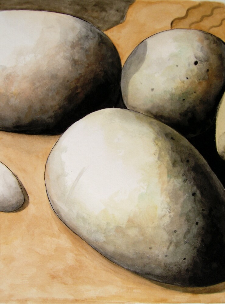 Rocks and Sand by Bill Proctor